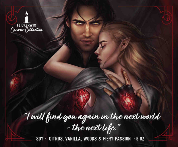 Canvas Collection - Nessian (ACOTAR)-Canvas-Flickerwix