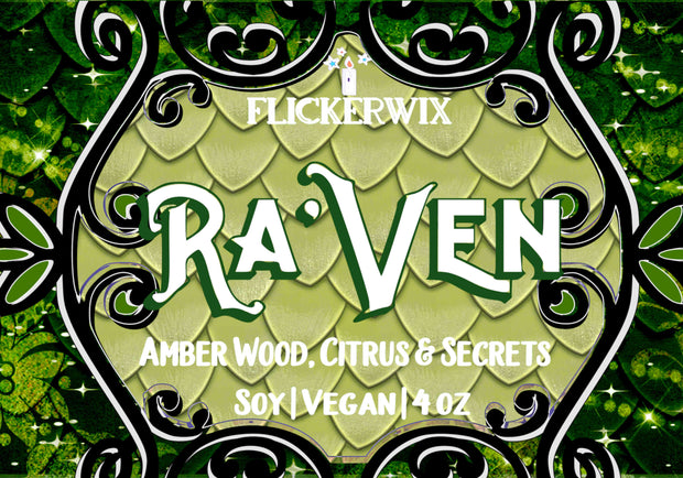 Ra'Ven (Black Witch Chronicles)-Flickerwix