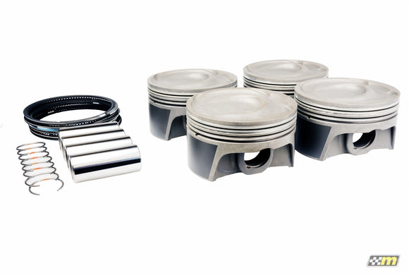 mountune Forged Piston Set - 2.0L EcoBoost 9.3:1