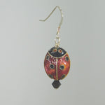 Bee Wild Ladybug Earrings