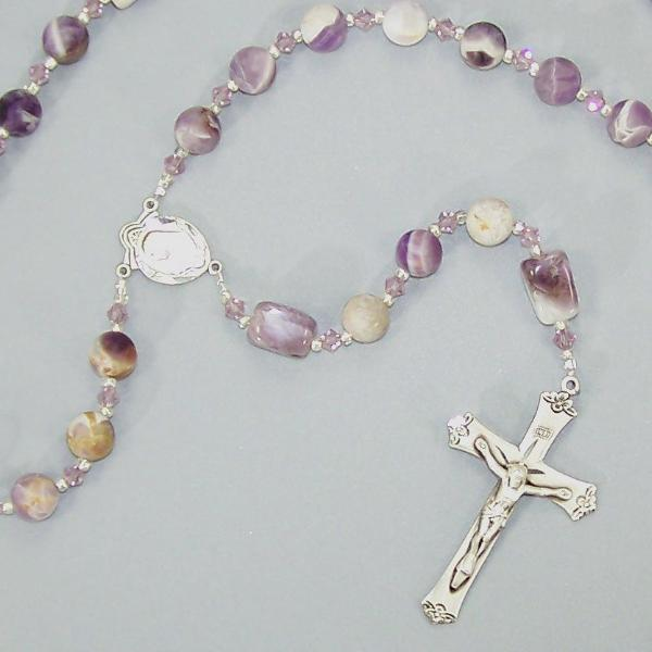 Cape Amethyst Sterling 5-Decade Rosary