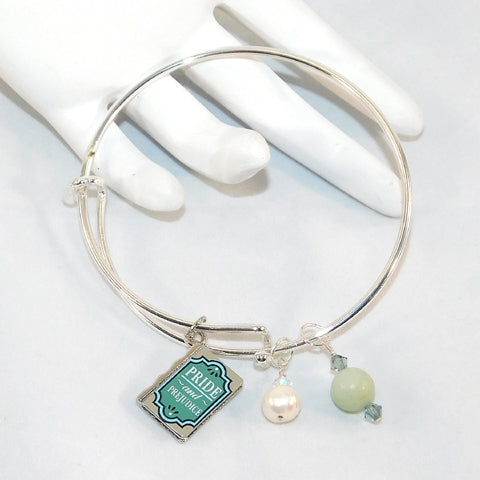 Amazonite Pride & Prejudice Bangle Bracelet