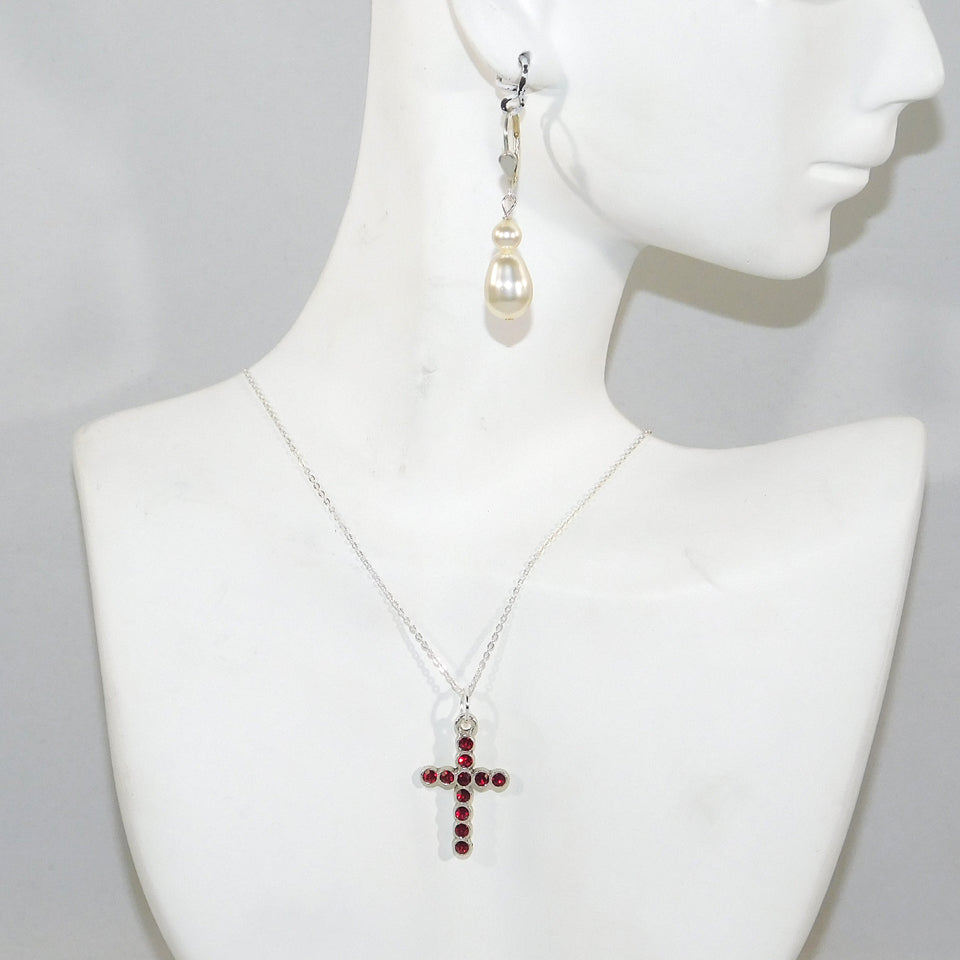 Lizzy's Cross Necklace