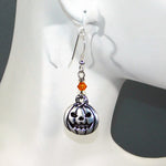 Bee Merry Halloween Charm Earrings