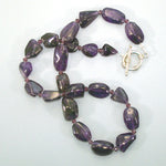 Amethyst Nugget Sterling Necklace