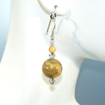 Crazy Lace Agate Earrings (large)