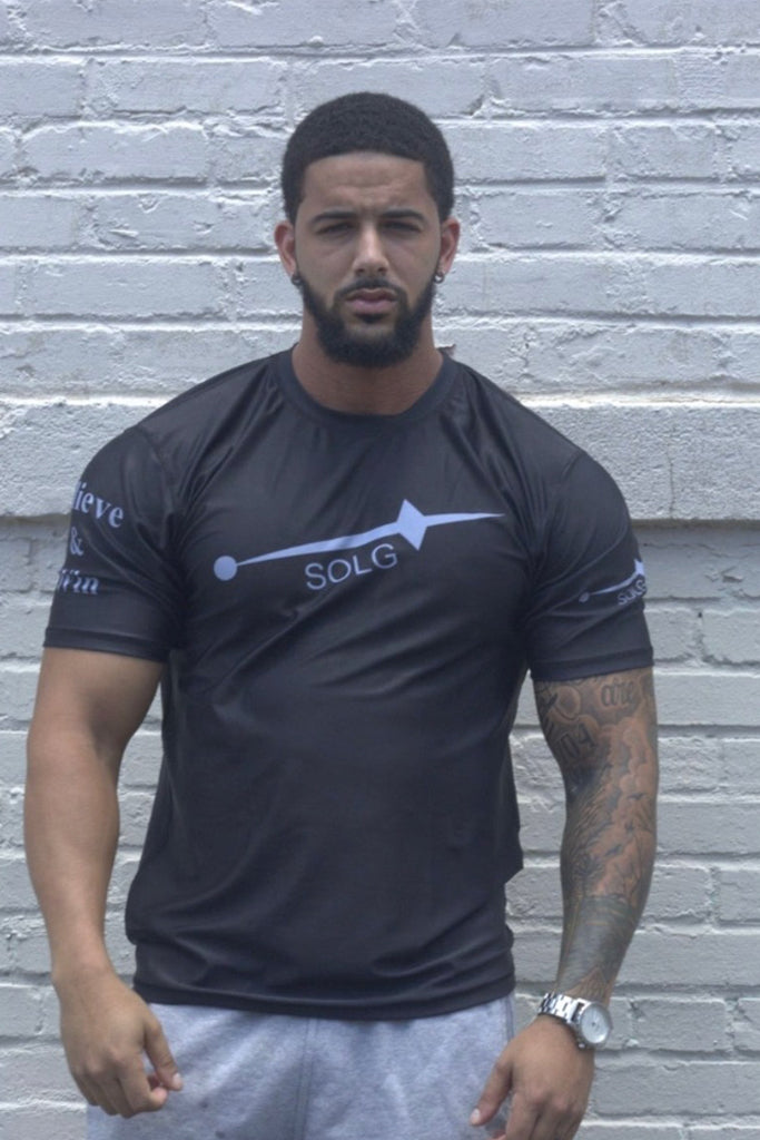 Men's Black Dri-fit Shirt