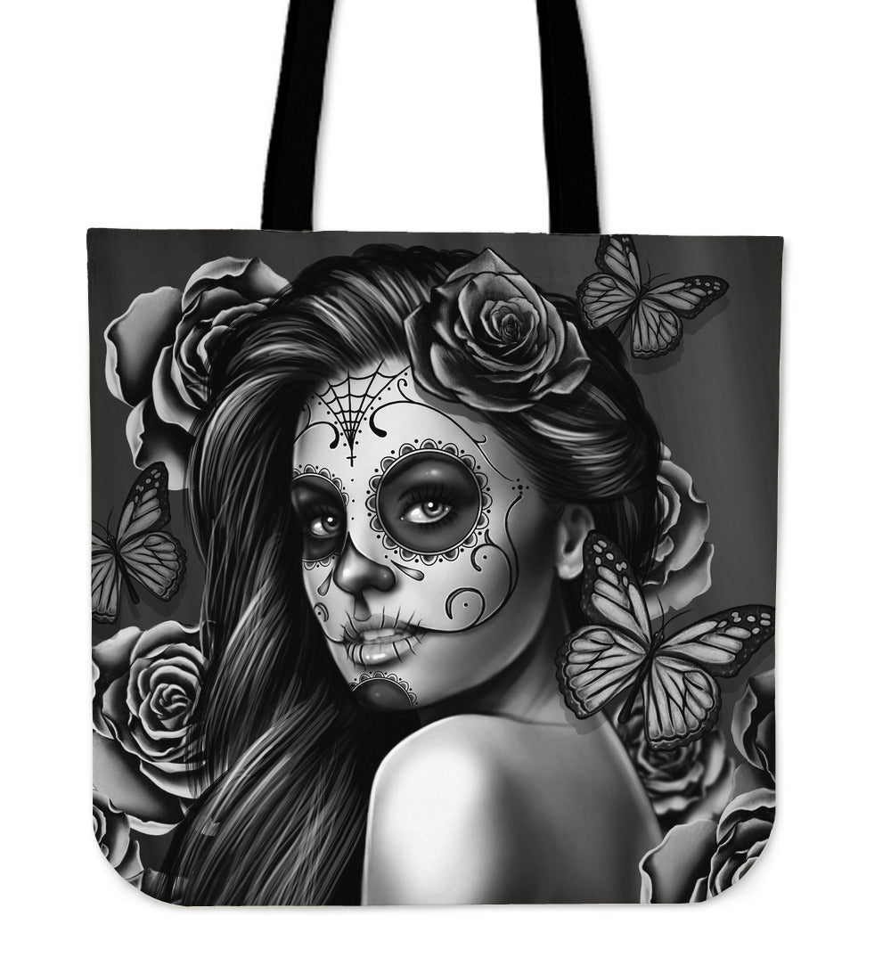 Gray Calavera Girl