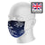 Dreamcatcher Blue Sky Sublimation Face Mask