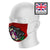 Sugar Skull Purple Calavera Catrina Sublimation Face Mask