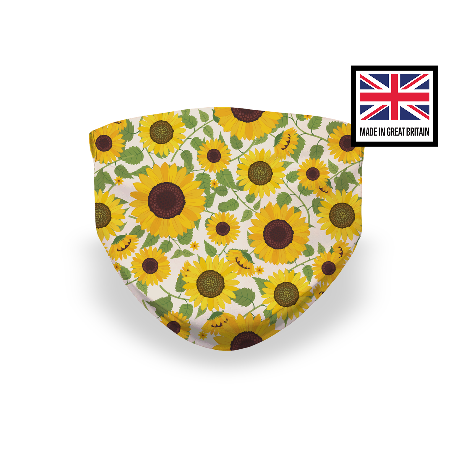 Sunflowers Sublimation Face Mask