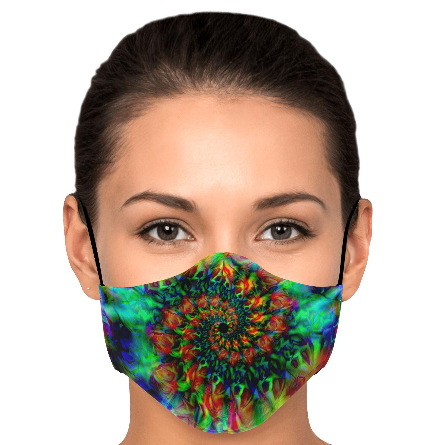 Trippy Waves Mask