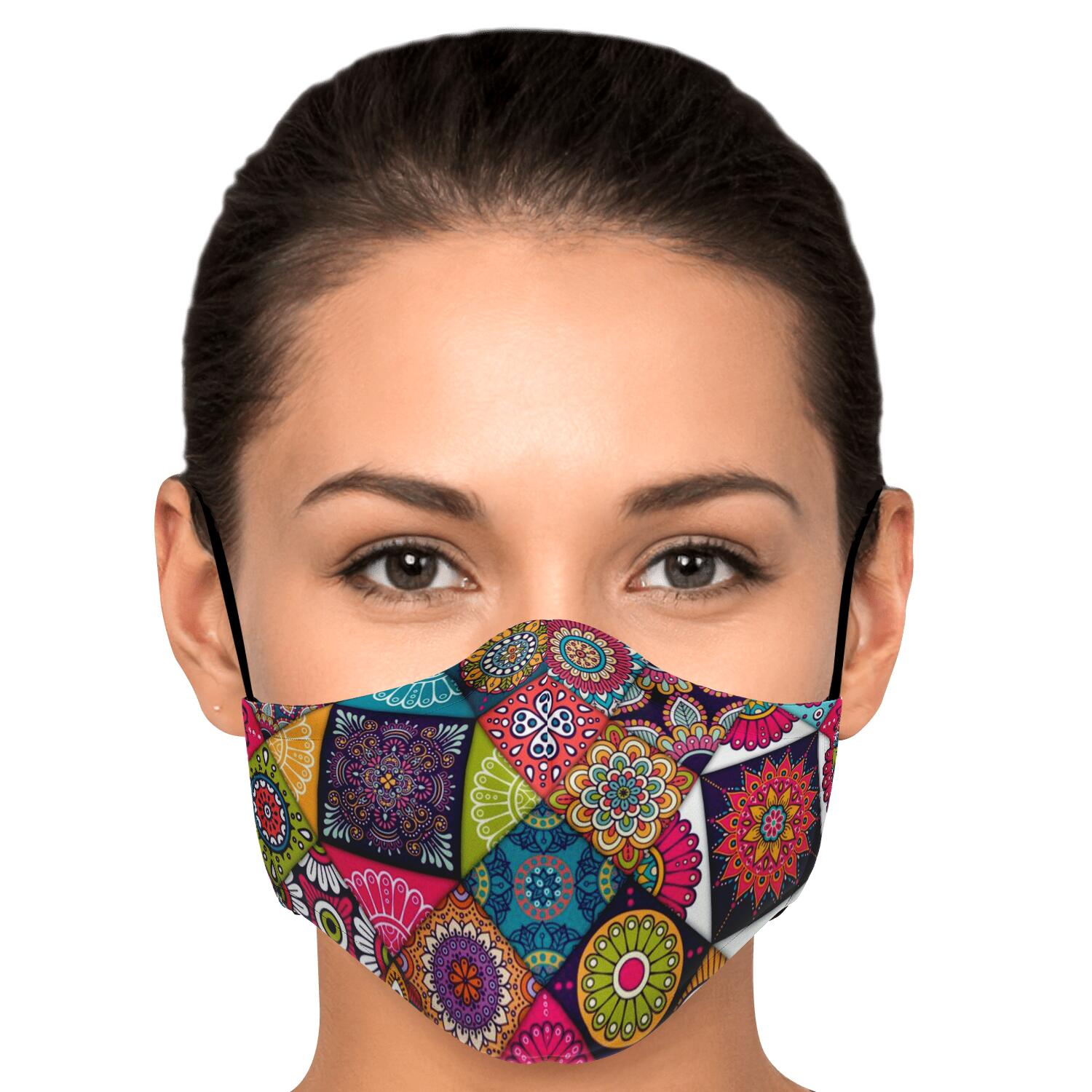 Ethnic Pattern Mask