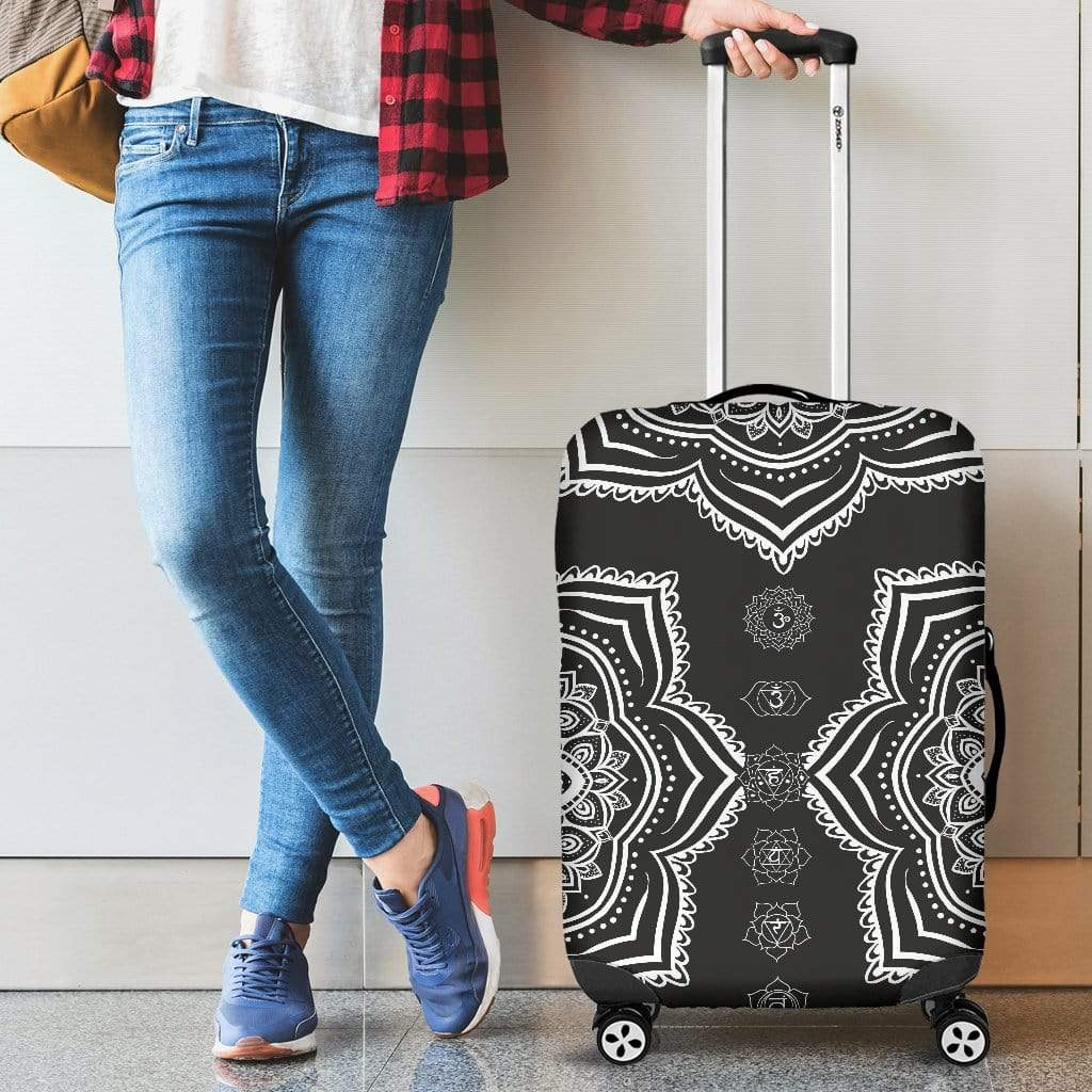Chakra Mandala Luggage Cover Luggage Cover