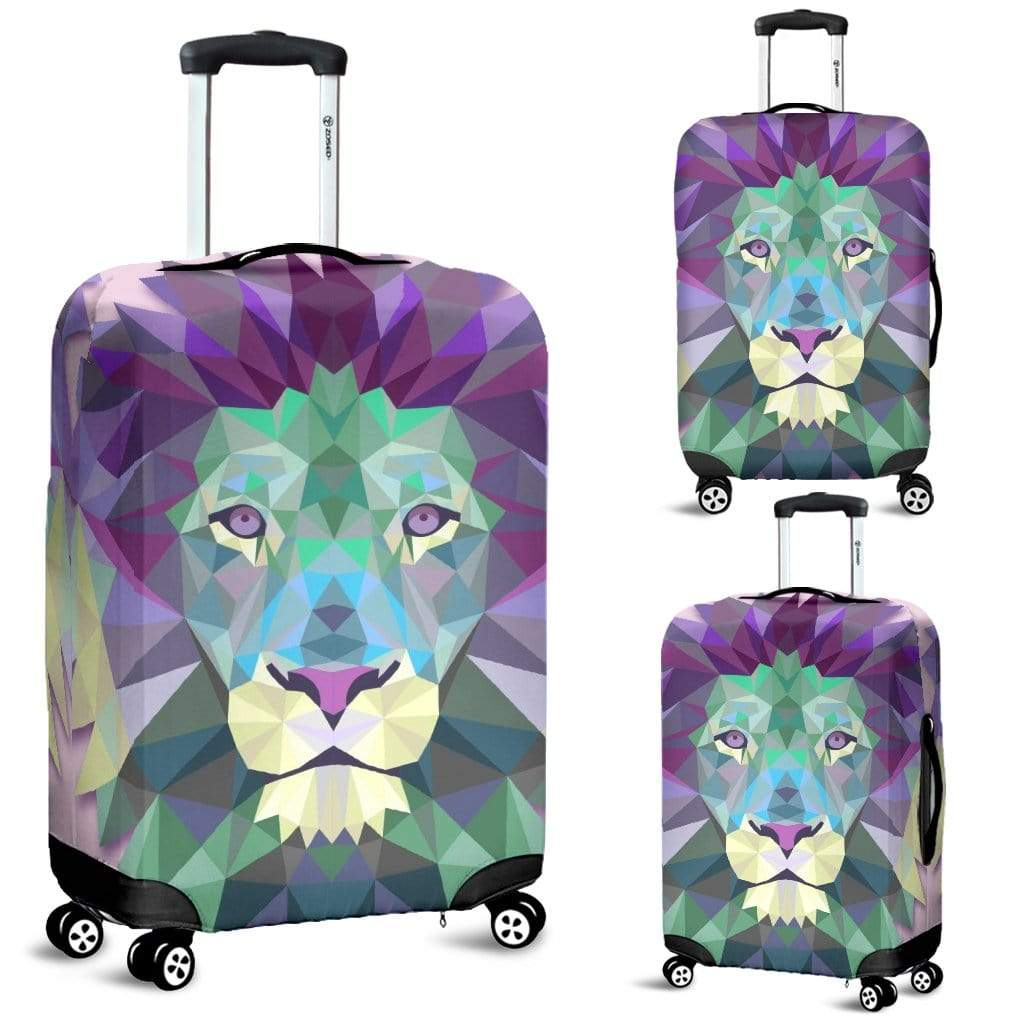 Colorful Lion Luggage Cover Luggage Cover