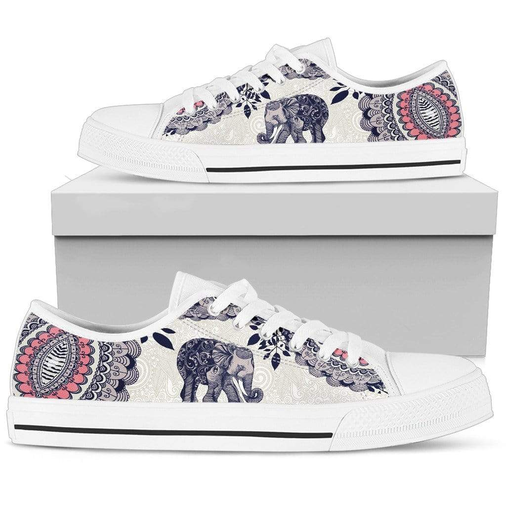 Elephant Women's Low Top Shoe Women's Low Top