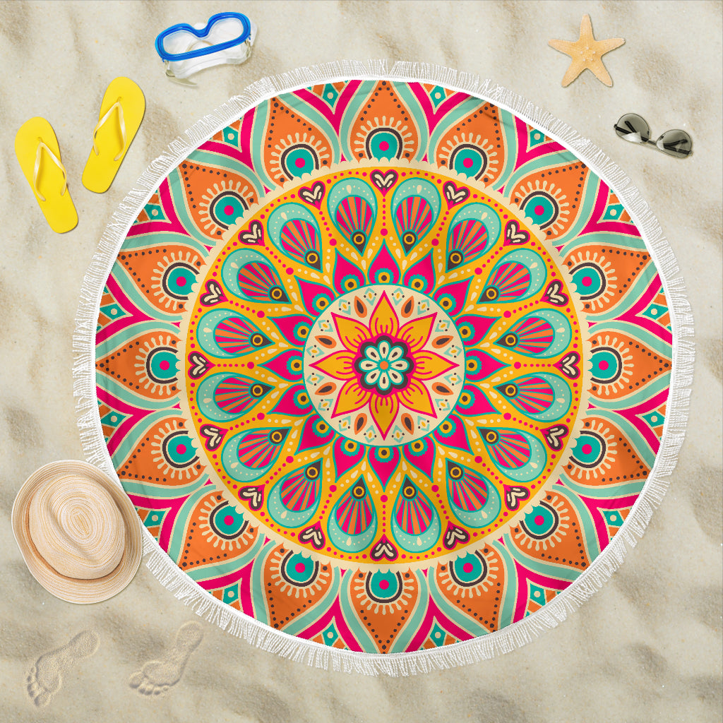 Colorful Hippie Mandala
