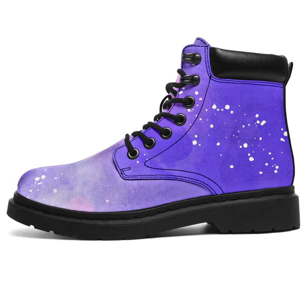Purple Watercolor Galaxy