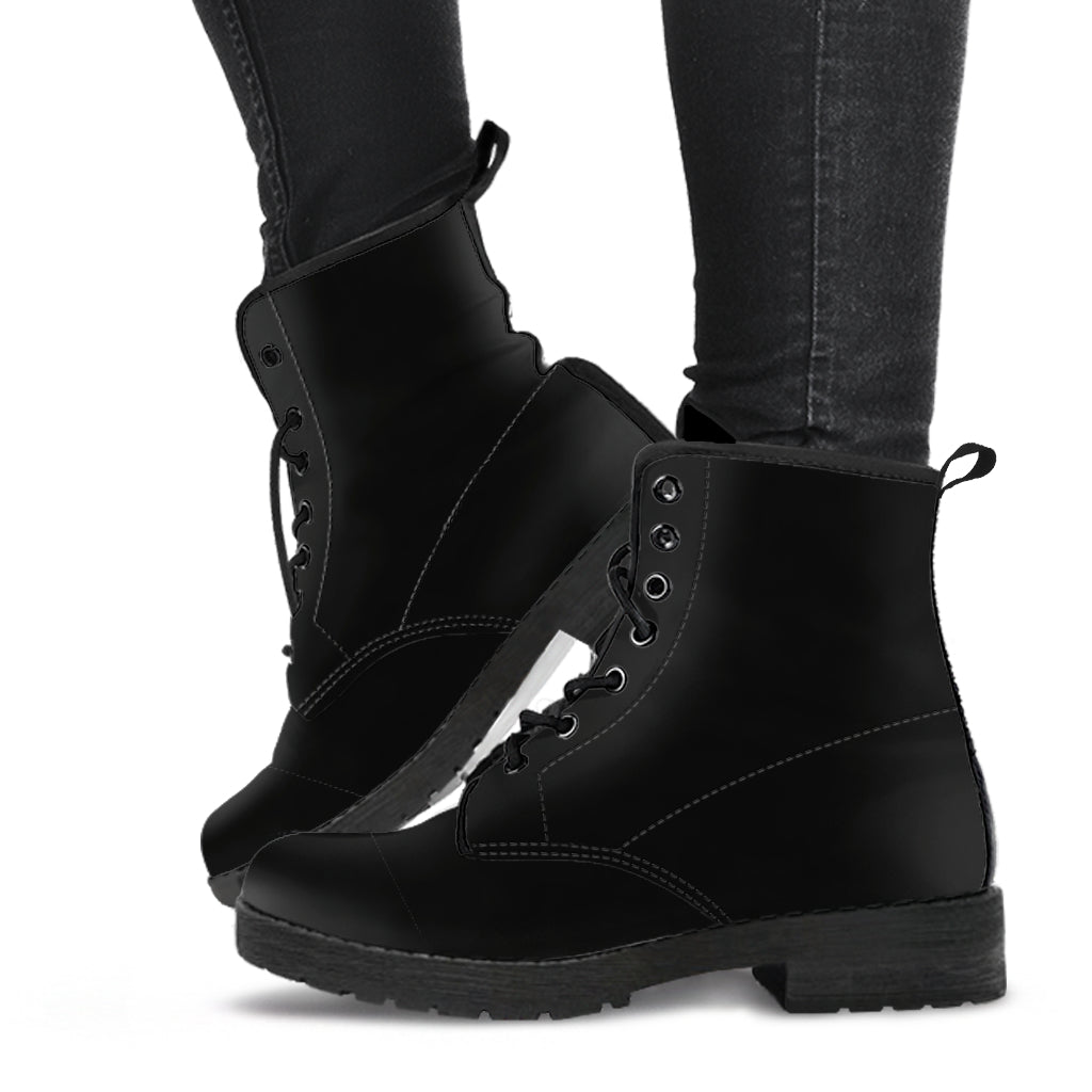 Pure Black Boots