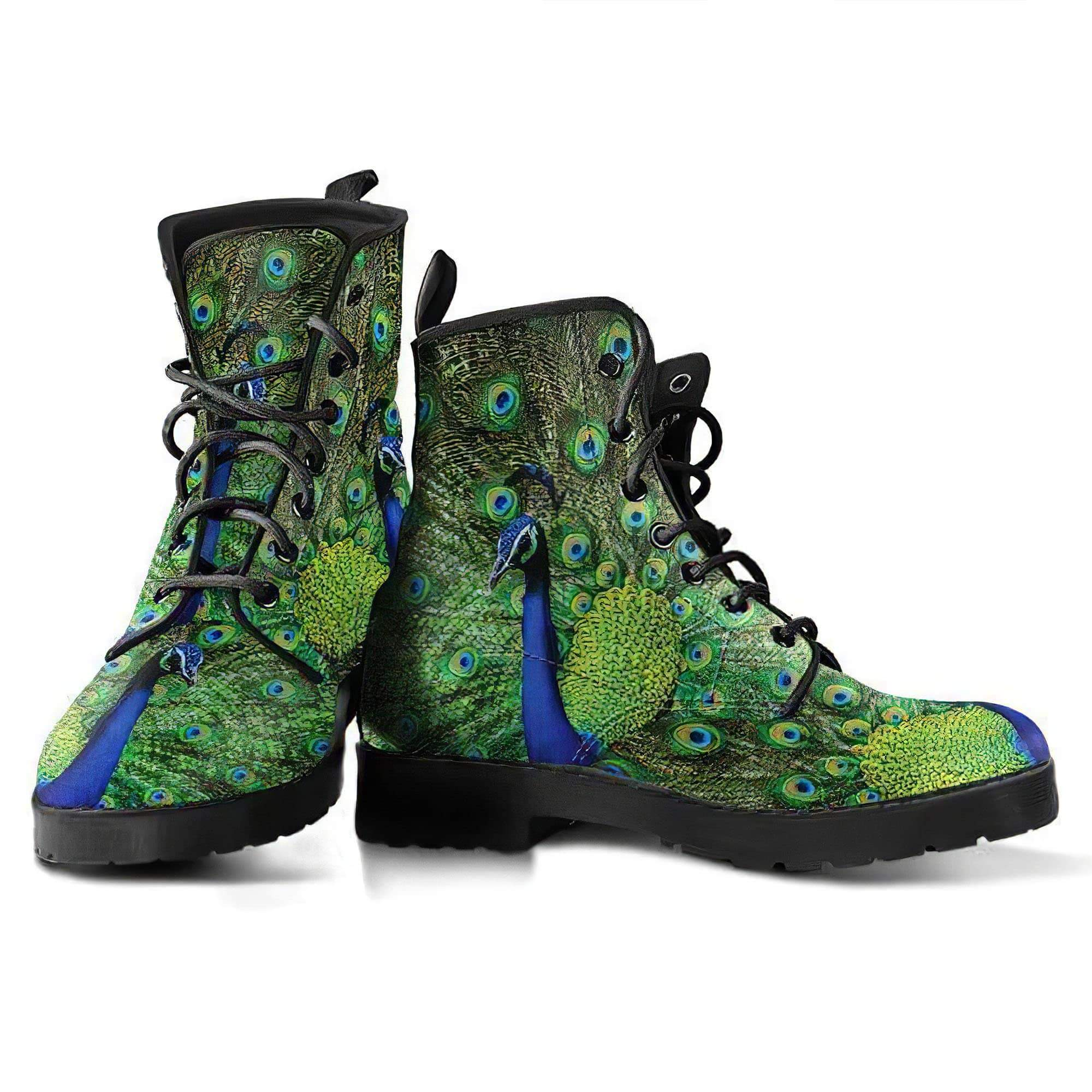 Peacock 4 Handcrafted Boots Women's Leather Boots