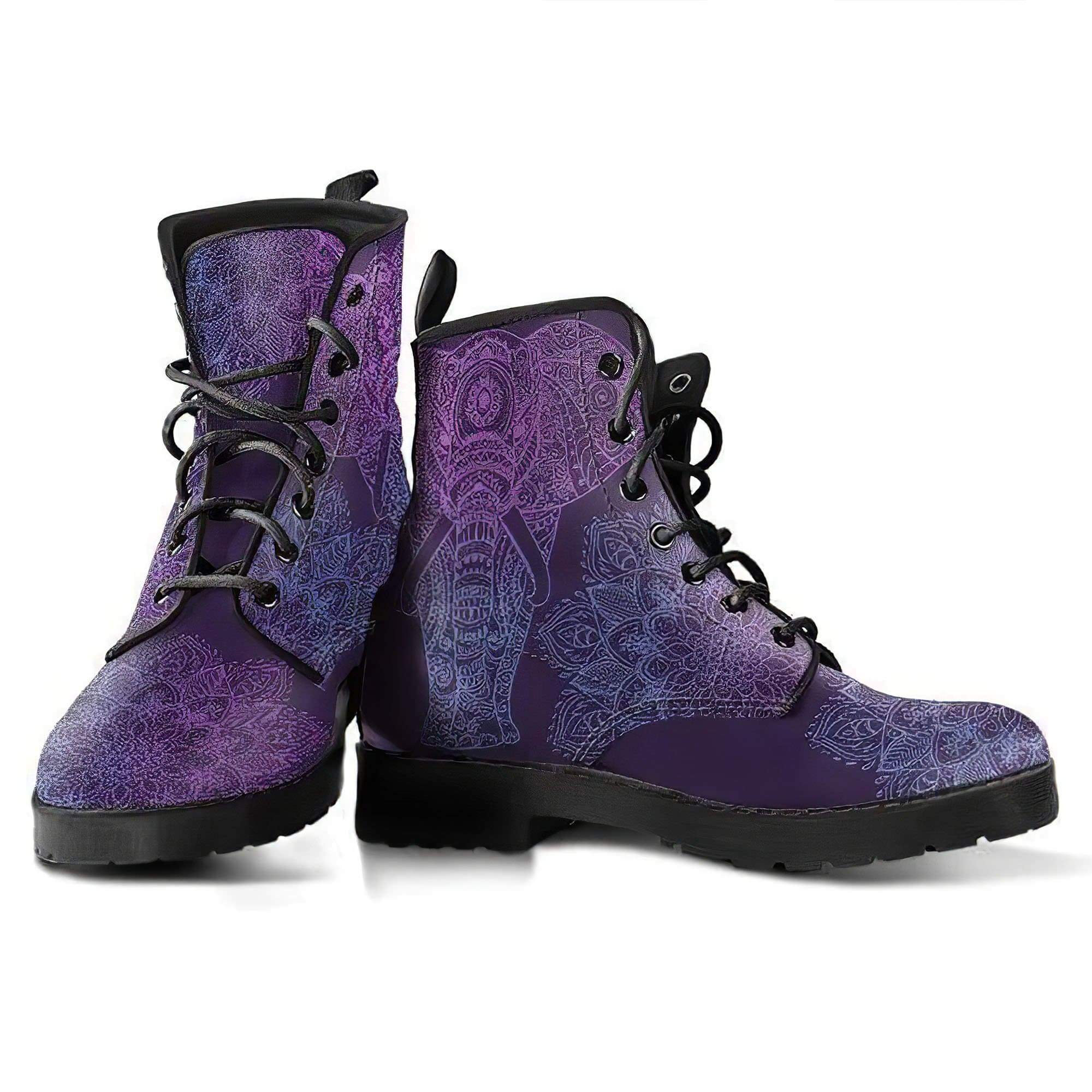 Purple Elephant Handcrafted Boots Women's Leather Boots