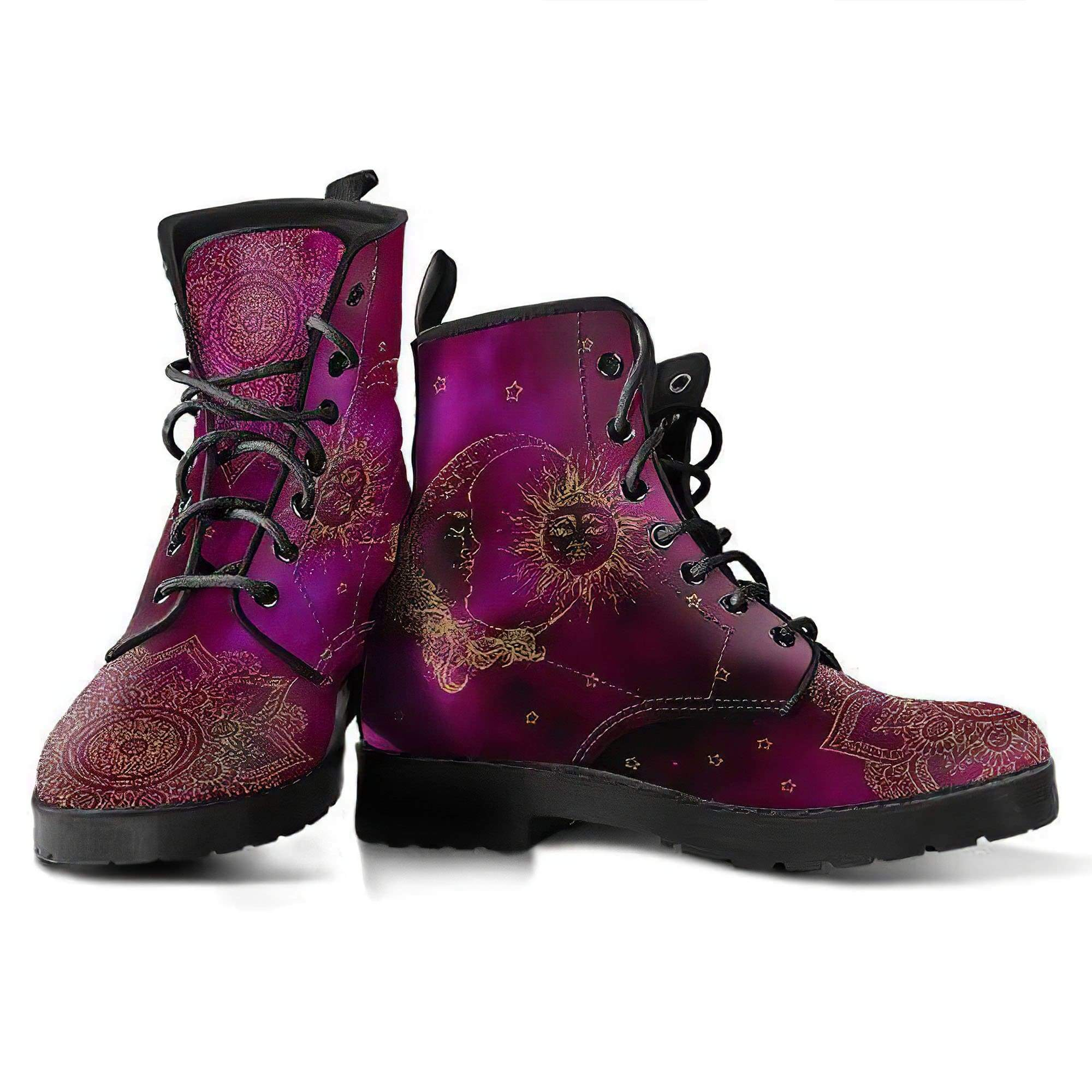 Sun and Moon 2.0 Handcrafted Boots Women's Leather Boots