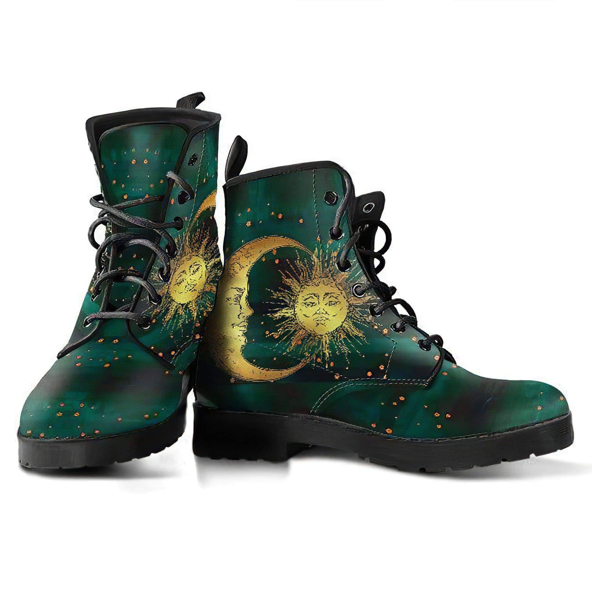 Sun and Moon 6 Handcrafted Boots Women's Leather Boots