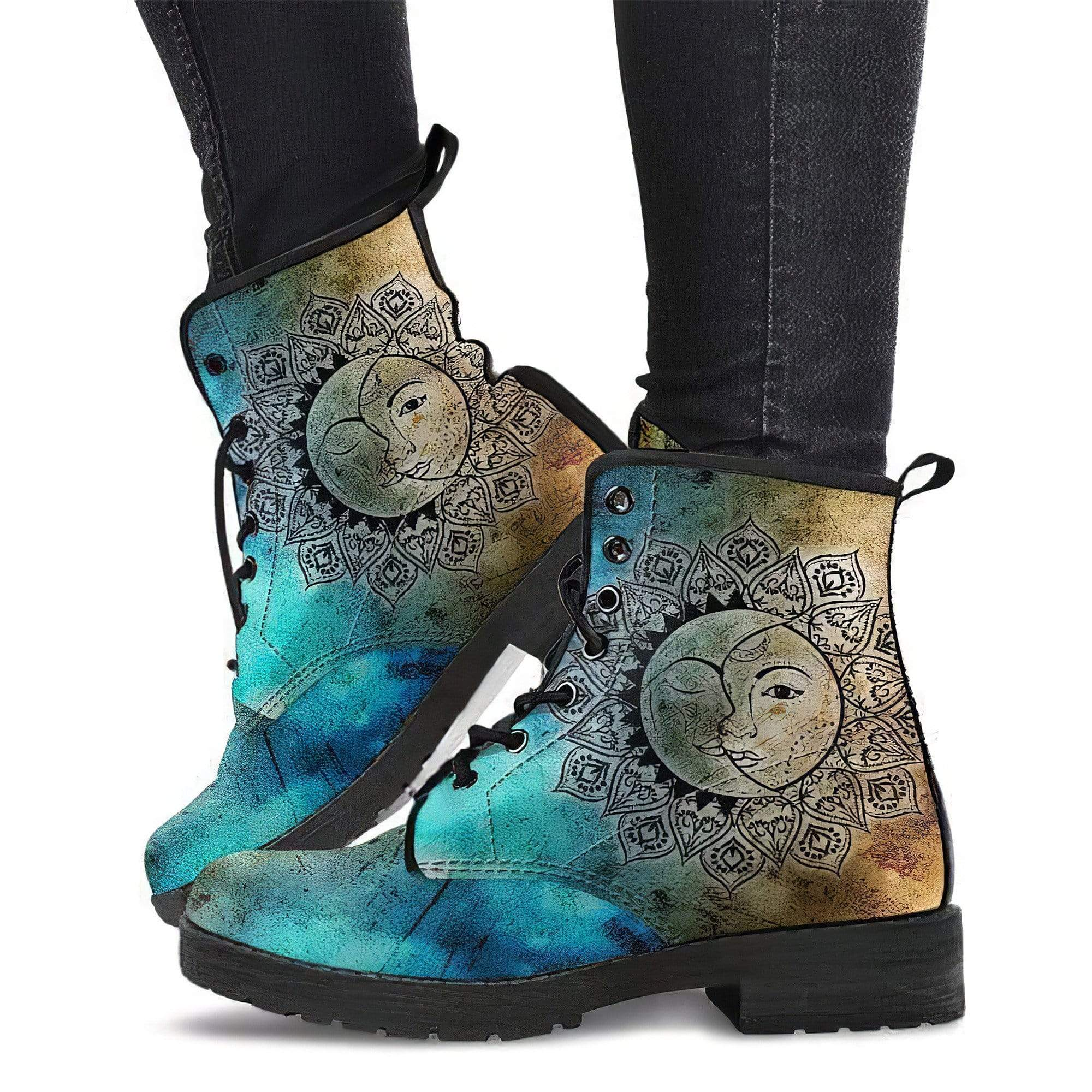 Sun Moon 3 Women's Boots Vegan Friendly Leather Women's Leather Boots