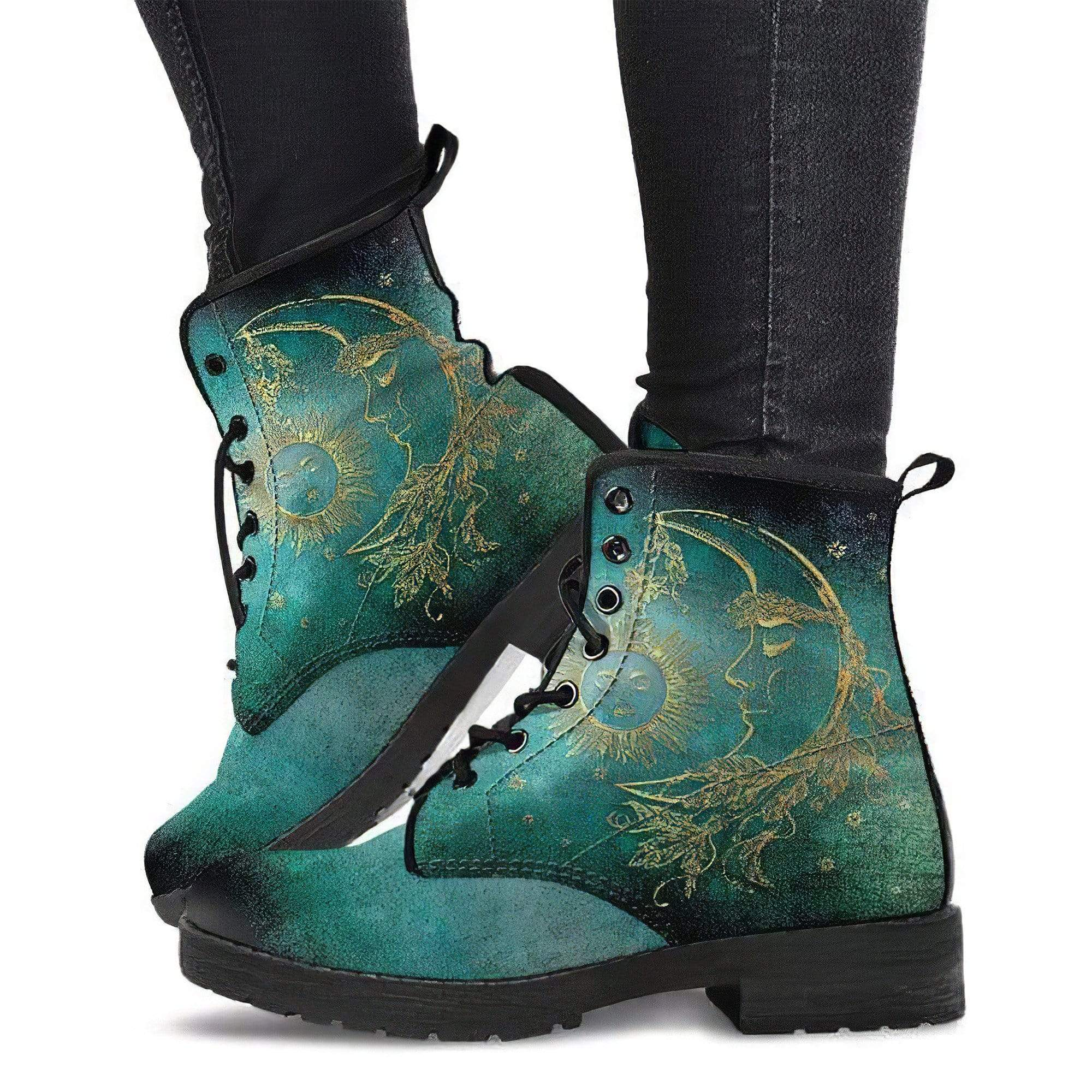 Sun Moon Handcrafted Boots Women's Leather Boots