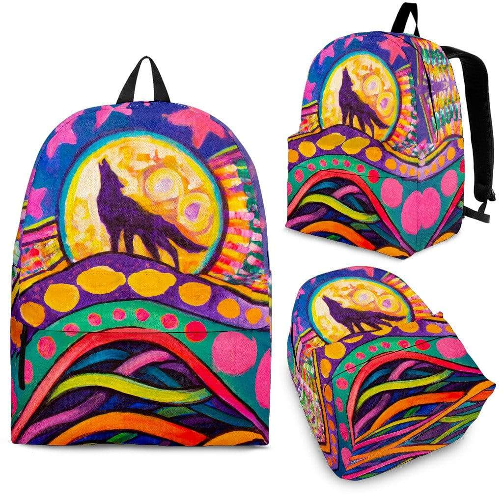 The Wolf - Backpack Backpack Backpack / Adult (Ages 13+)
