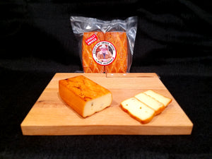 Steve's Hot Smoked Jalapeno Cheese by Bigfoot Smoked Products