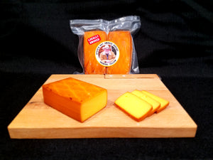 Steve's Hot Smoked Original Yellow Cheese by Bigfoot Smoked Products