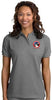 Women's Cotton Polo Shirt with Embroidered NMA Logo