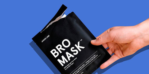 Bestproducts.com Jaxon Lane Bro Mask Best Sheet Mask for Men