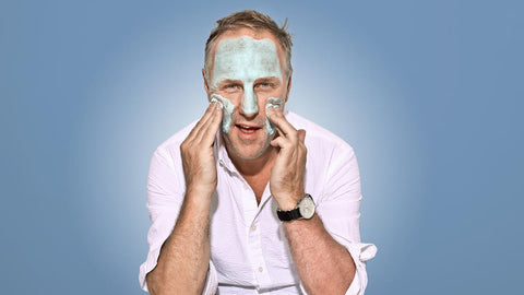 The London Times Simon Mills Reviews Jaxon Lane Bro Mask Men's Face Mask