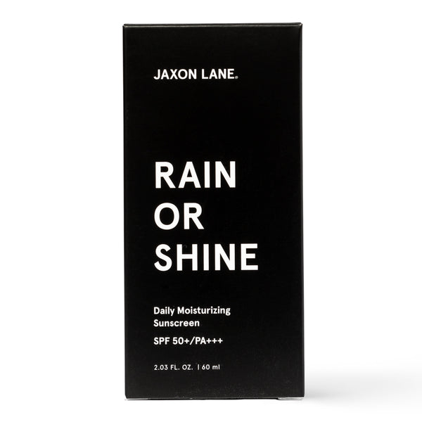 Rain Or Shine - Daily Moisturizing Sunscreen | Skincare routine for men, anti-aging sunscreen, sunscreen for sensitive skin, SPF moisturizer, face sunscreen, face moisturizer with sunscreen