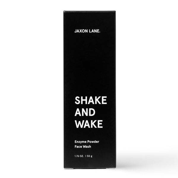 Shake And Wake - Enzyme Powder Face Wash | Skincare routine for men, face exfoliator, exfoliating powder, anti-acne face wash, papaya cleanser, pineapple cleanser