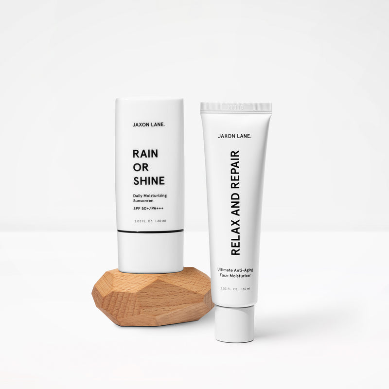 Jaxon Lane | AM/PM Skincare Set Gift For Men | Dermatologist Recommended Skincare for Men