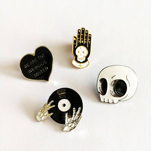 Weirdo 4pcs Enamel Pin Set