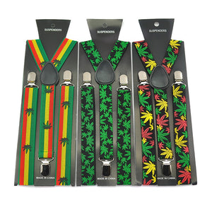 Rasta Y-Back Suspenders