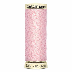 GUTERMANN Fil Sew-All MCT 100m - rose pétale