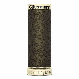 GÜTERMANN MCT Sew-All Thread 100m - Bitter Chocolate