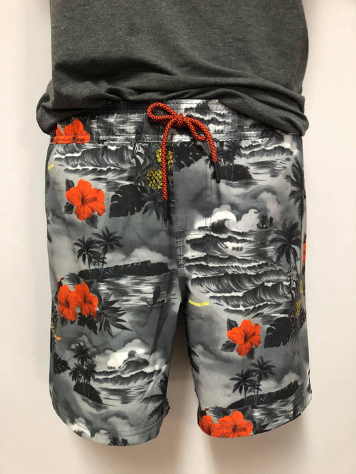 Short avec imprimé tropical Point Zero