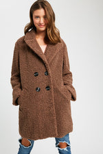 Brown Teddy Bear Coat