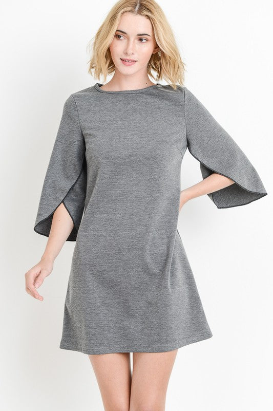 Butterfly Sleeve Dress