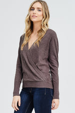 Megan Wrap Sweater