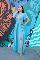 Sky Blue Siren Dress