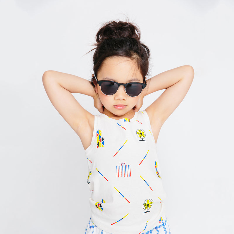 HKG Tank Top - Hong Kiddo Print