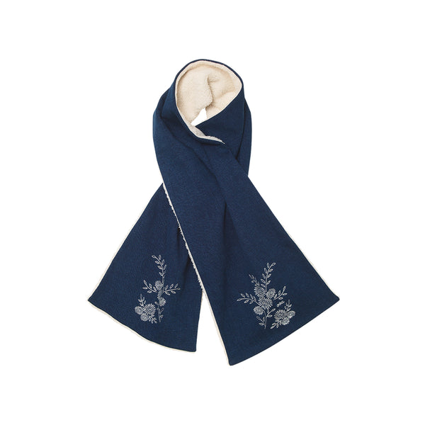 Barry Scarf - Denim Blue