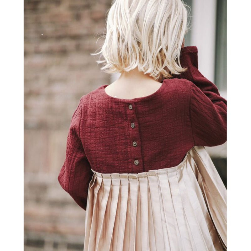 Daphne Top - Burgundy